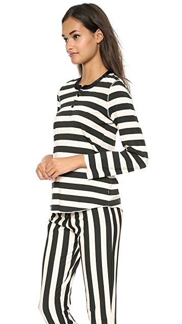 Morgan Lane Cara Stripe Pajamas