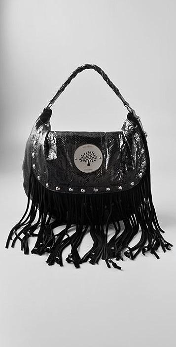 efae592a4c1f Mulberry Daria Shoulder Bag with Fringe