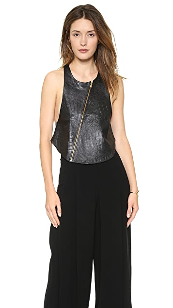 MLM LABEL 101 Leather Vest
