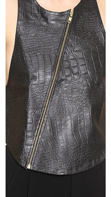 MLM LABEL 101 Leather Vest
