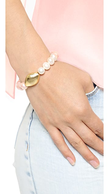 Mary Louise Designs Cultured Freshwater Pearl Bracelet