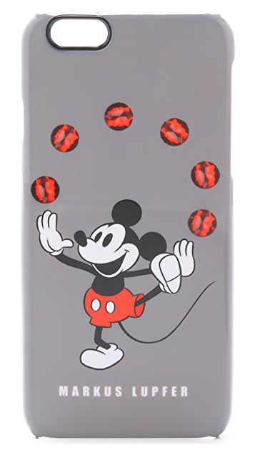 Markus Lupfer Juggling Mickey Mouse iPhone 6 Case