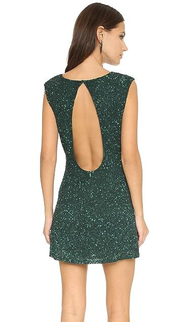 MLV Kari Beaded Open Back Dress