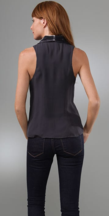Madison Marcus Plush Sleeveless Top