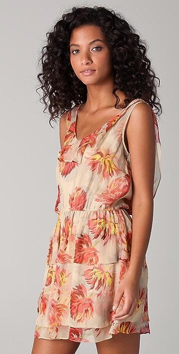 Madison Marcus Opulence Floral Mini Dress