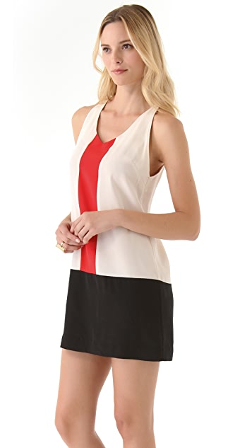 Madison Marcus Beacon Colorblock Dress