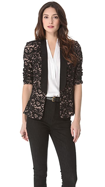 Madison Marcus Magnetic Lace Blazer