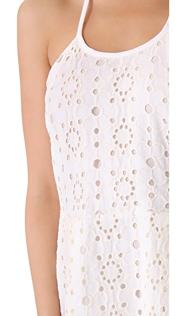 Madison Marcus Fore Lace Tank Dress