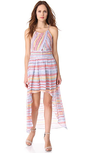 Madison Marcus Intoxicate Hi Lo Dress