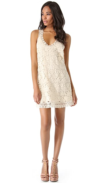 Madison Marcus Zing Crochet Dress