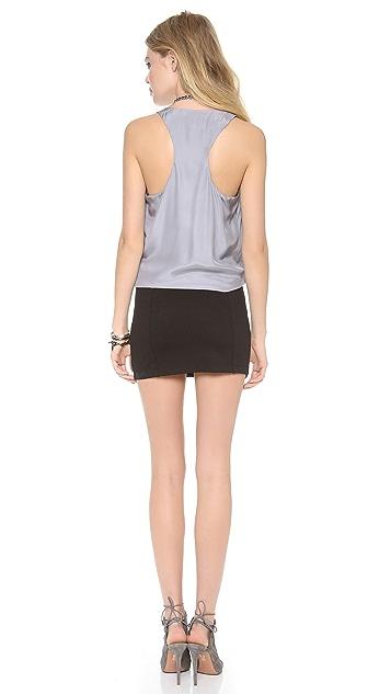 Madison Marcus Hue V Neck Dress