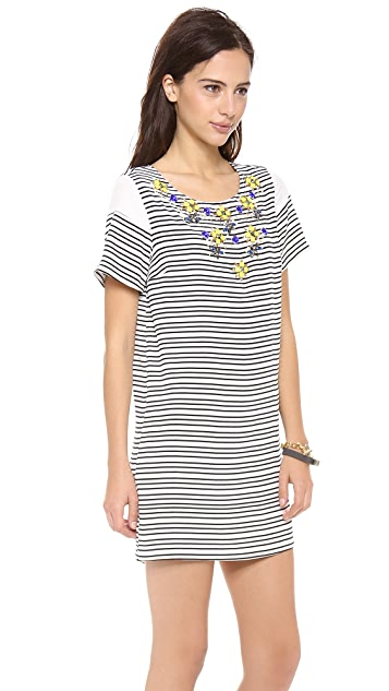 Madison Marcus Illuminate Stripe Dress