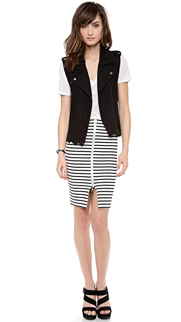 Madison Marcus Idol Fringe Vest