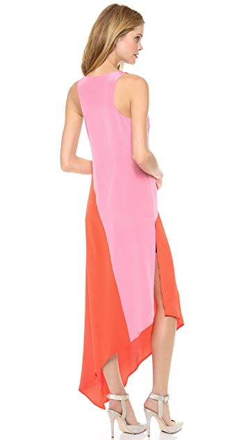 Madison Marcus Conquer Asymmetrical Dress