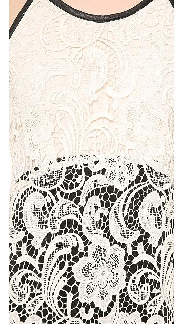 Madison Marcus Primp Lace Dress