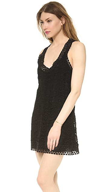 Madison Marcus Preen T Back Lace Dress
