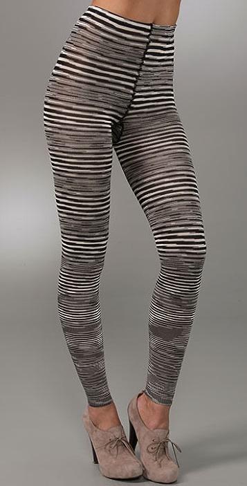 M Missoni Striped Leggings