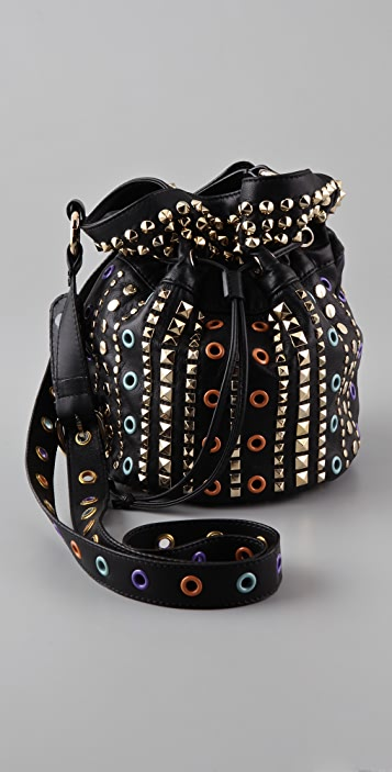 M Missoni Studded Pouch Bag