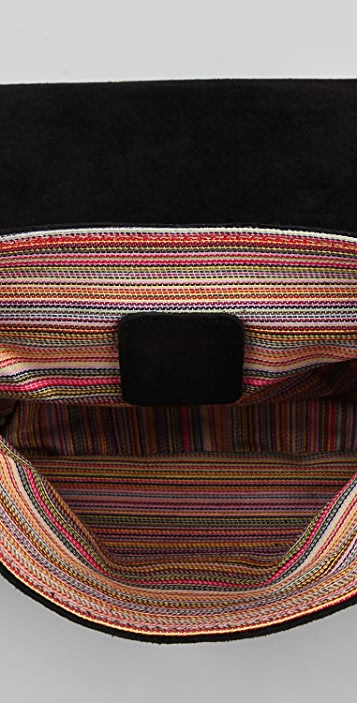M Missoni Suede Cross Body Bag