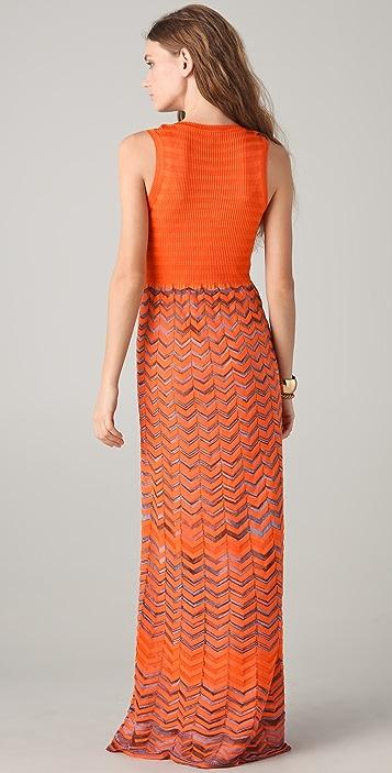 M Missoni Knit Maxi Tank Dress