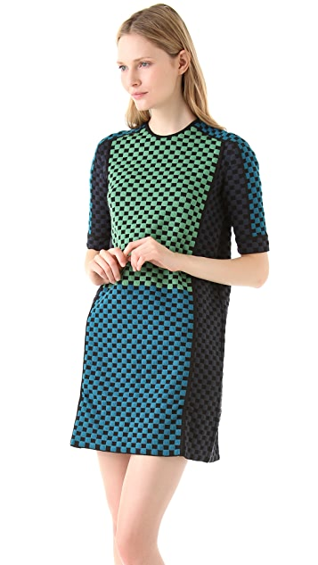 M Missoni Multicolored Jacquard Dress