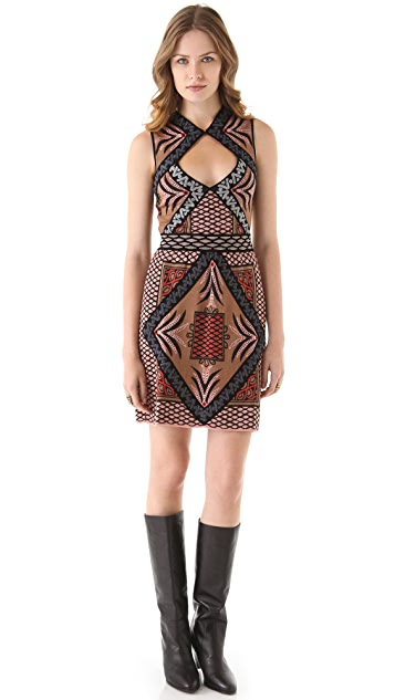 M Missoni Diamond Intarsia Dress
