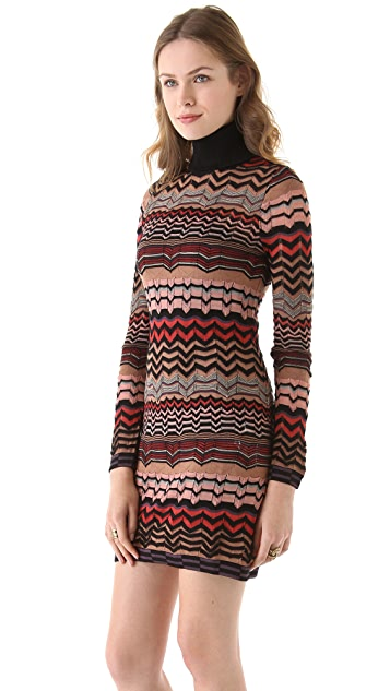 M Missoni Small Zigzag Dress