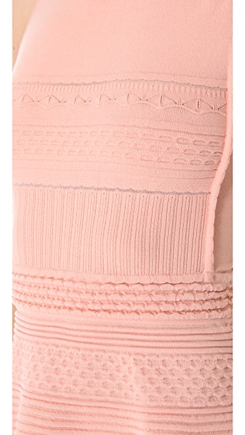 M Missoni Solid Rib Sleeveless Dress