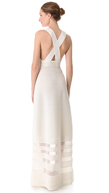 M Missoni Ribbed Knit Gown