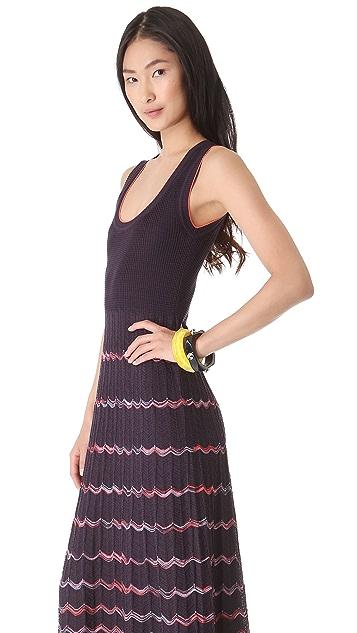 M Missoni Wave Stripe Maxi Dress