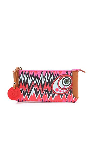M Missoni Graphic Zigzag Wallet