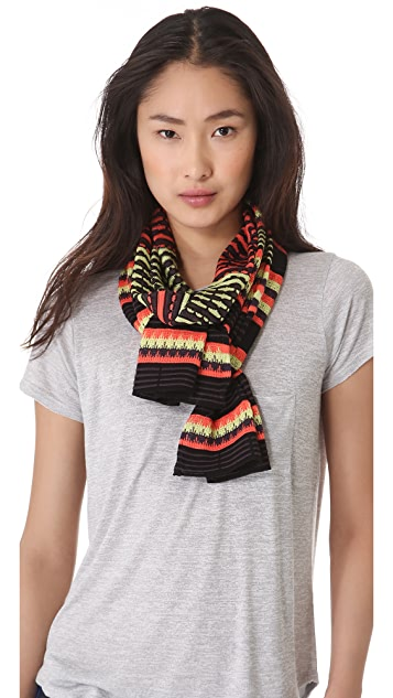 M Missoni Diamond Stripe Scarf