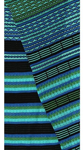 M Missoni Diamond Stripe Scarf