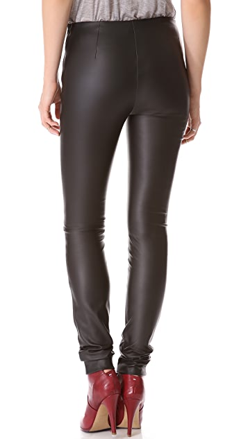 M Missoni Faux Leather Leggings