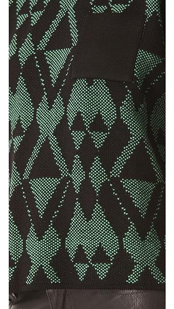 M Missoni Aztec Intarsia Sweatshirt