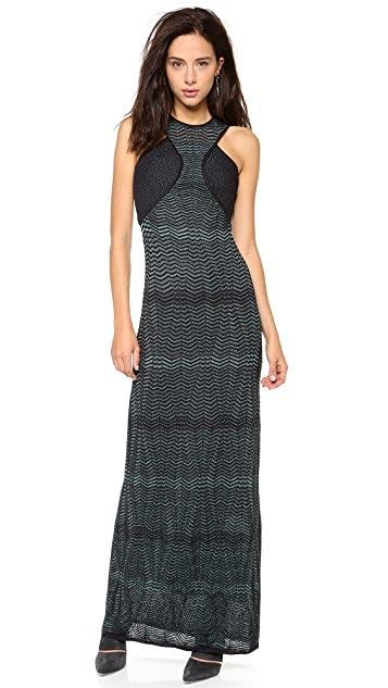 M Missoni Zigzag Maxi Dress