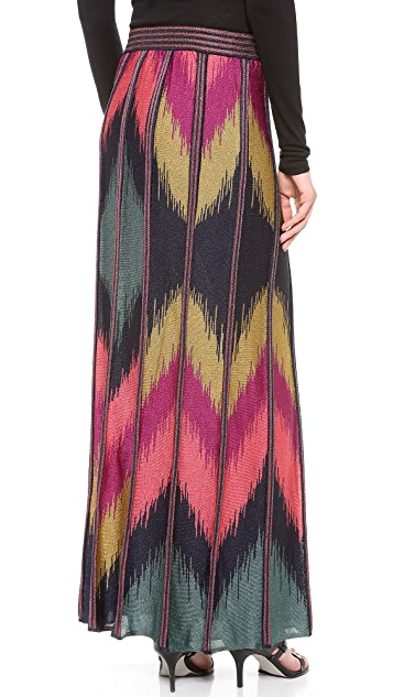 M Missoni Ikat Maxi Skirt