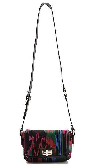 M Missoni Structured Woven Shoulder Bag