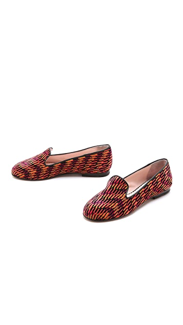 M Missoni Printed Smoking Slippers