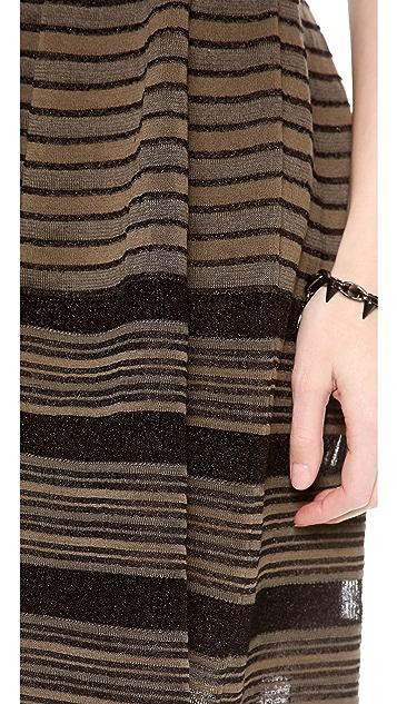 M Missoni Rib Stitch Sleeveless Dress