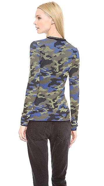 M Missoni Camouflage Mix Pullover
