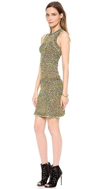 M Missoni Snake Skin Jacquard Dress