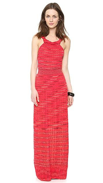 M Missoni Space Dye Maxi Dress