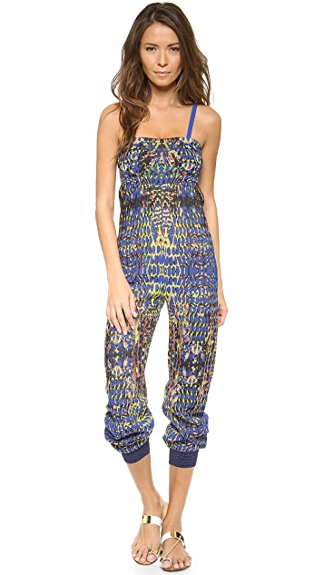 M Missoni Digital Batik Jacquard Jumpsuit