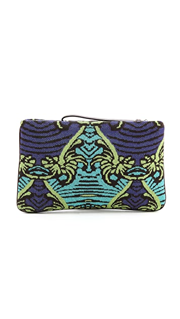 M Missoni Intarsia Monkey Clutch