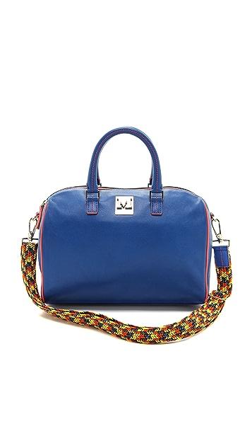M Missoni Leather Satchel