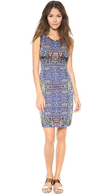 M Missoni Digital Batik Tank Dress