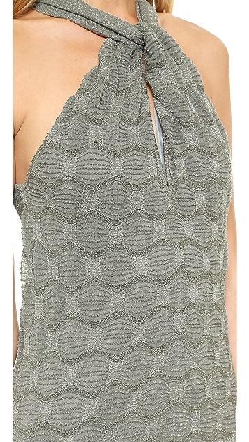 M Missoni Metallic Bubble Stitch Jumpsuit
