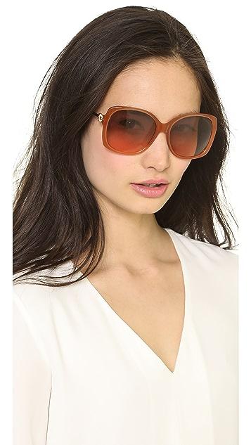 M Missoni Oversized Square Sunglasses