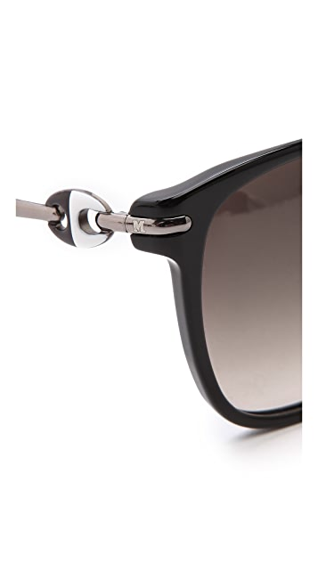 M Missoni Rounded Bottom Sunglasses